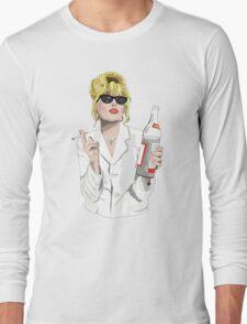 Patsy Stone AbFab Cheers Darling Long Sleeve T-Shirt