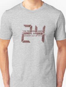 24 Jack Bauer Longest Day (Red) Unisex T-Shirt