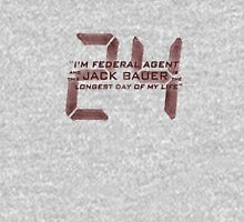 24 Jack Bauer Longest Day (Red) Unisex T-Shirt