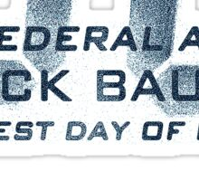 24 Jack Bauer Longest Day (Blue) Sticker
