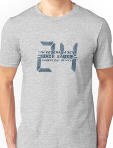 24 Jack Bauer Longest Day (Blue) Unisex T-Shirt