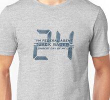 24 Jack Bauer Longest Day (Blue) Unisex T-Shirt