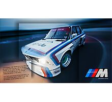 BMW M5 Photographic Print