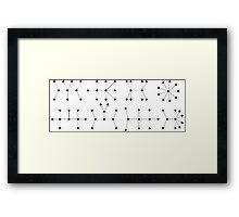 Good Will Hunting Formula Framed Print