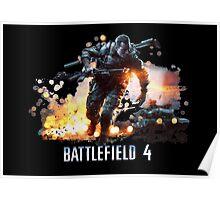 Battlefield 4 by Slim Poster