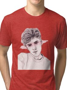 Connor Franta: Streaked Tri-blend T-Shirt