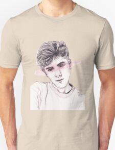 Connor Franta: Streaked Unisex T-Shirt