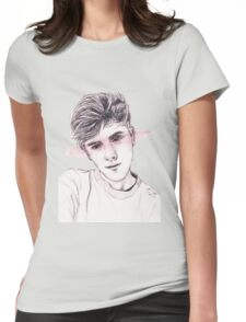 Connor Franta: Streaked Womens Fitted T-Shirt