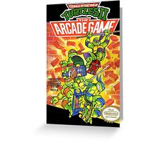 Tmnt - Arcade Game Greeting Card