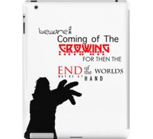 The Amory Wars - The Crowing iPad Case/Skin