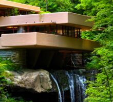Wishes on Fallingwater Sticker