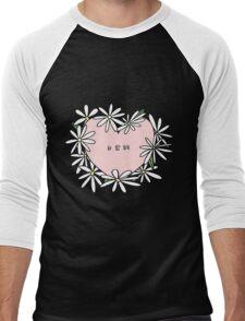 사랑해(i love you) Daisies Men's Baseball ¾ T-Shirt