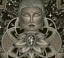 Cosmic Nirvana2 - black Sticker