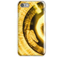 Iris Golden iPhone Case/Skin