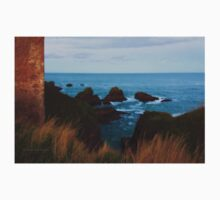 North Sea, Cruden Bay - From Slains Castle - North East coast of Aberdeenshire, Scotland Kids Tee