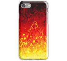 Red and Yellow Dance iPhone Case/Skin