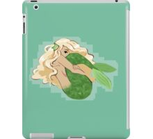 Shy Mermaid iPad Case/Skin