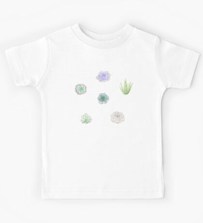 Small Succulents Kids Tee