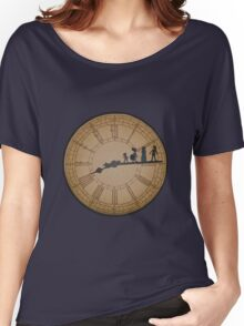 Stained Glass on the Clock Tower Women's Relaxed Fit T-Shirt