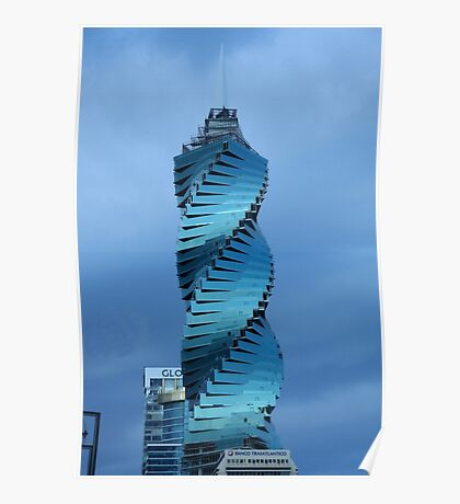 Donald Trump's Office Tower, Panama Poster