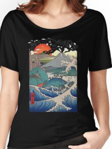 asian sunset Women's Relaxed Fit T-Shirt