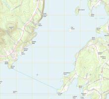 Maine USGS Historical Map Islesboro 20110909 TM Sticker