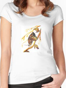 Wings of a Butterfly Women's Fitted Scoop T-Shirt