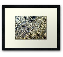 """""""Water Patterns"""" - The Beauty Of An Unspoilt Island Framed Print"""