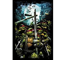 Teenage Mutant Ninja Turtles - TMNT Retro Photographic Print