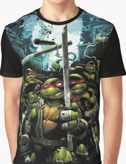 Teenage Mutant Ninja Turtles - TMNT Retro Graphic T-Shirt
