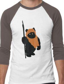 Ewok Bear, Star Wars Men's Baseball ¾ T-Shirt
