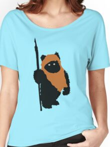 Ewok Bear, Star Wars Women's Relaxed Fit T-Shirt