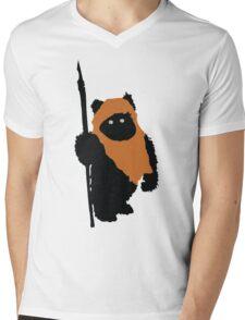 Ewok Bear, Star Wars Mens V-Neck T-Shirt