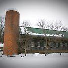 Winter Barn by Tom  Reynen