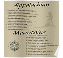 Appalachian Mountains Poster