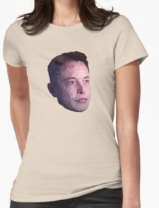 Low Poly Hero: Elon Musk – Shirts & Hoodies Womens Fitted T-Shirt