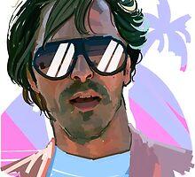 sonny crockett by Alex Mahoney