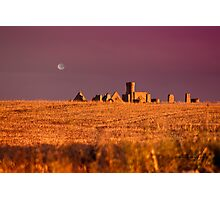 New Slains Castle at Sunset - Cruden Bay - Aberdeenshire - Scotland Photographic Print