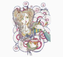 Hungry Ramen Girl One Piece - Long Sleeve