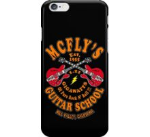 McFly's Guitar School Colour iPhone Case/Skin