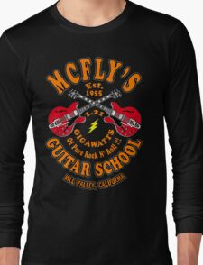 McFly's Guitar School Colour Long Sleeve T-Shirt