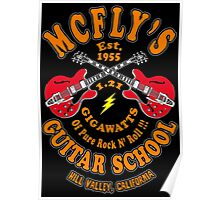 McFly's Guitar School Colour Poster