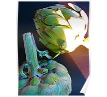 what did one artichoke say to another? Poster
