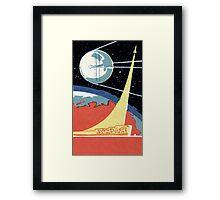 Sputnik 1 Framed Print