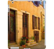 Street scene in France iPad Case/Skin