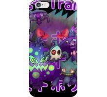 Ghost Trainer iPhone Case/Skin