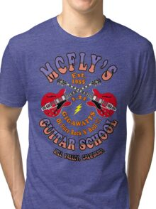 McFly's Guitar School Colour 2 Tri-blend T-Shirt