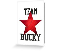 Team Bucky Greeting Card