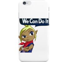 Tetra The Riveter iPhone Case/Skin