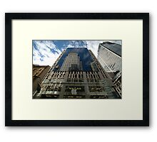 The Buildings Within, George Street, Sydney,Australia 2008 Framed Print